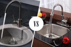 Мойки для кухни – из какого материала выбрать?