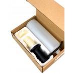 Дозатор для моющего средства Bretta Granit RIO черный металлик
