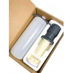 Дозатор для моющего средства Bretta Granit RIO серый металлик