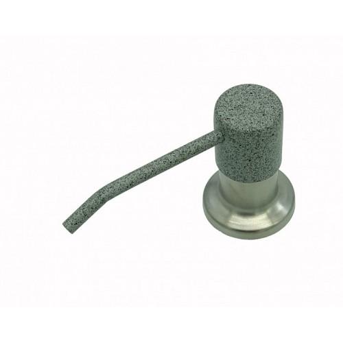 Дозатор для моющего средства Bretta Granit RIO комби серый