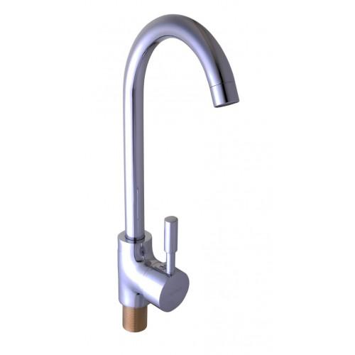 Смеситель кухонный Globus Lux LAZER GLLR-0103S Хром 16-37