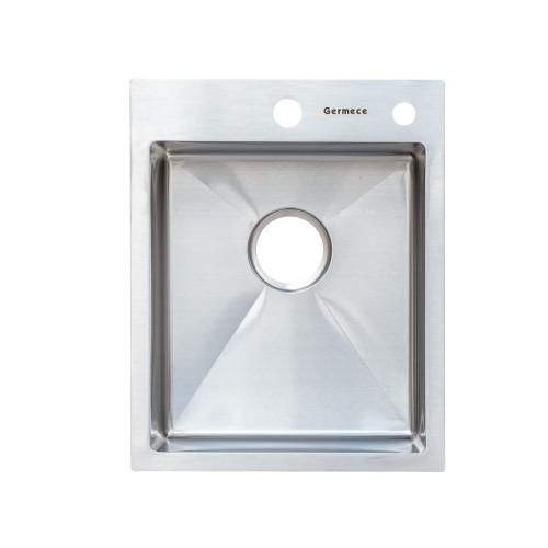 Мойка Platinum Handmade 40*50/220 (толщина 3,0/1,5 корзина и дозатор в комплекте)