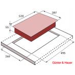ID 33 Индукционная варочная поверхность Günter & Hauer